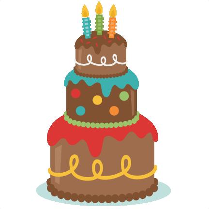 50 Birthday Cake Clip Art - ClipArt Best