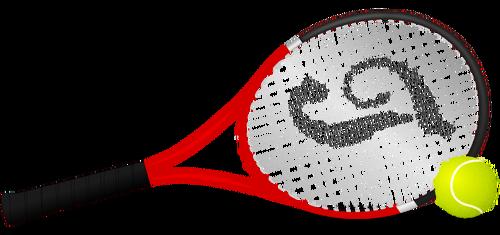 Clip Art Tennis Racket Clipart clip art tennis racket clipart best vector freevectors net clipartix