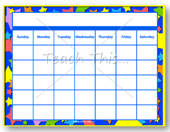 Classroom Calendar Template : Free printable ticket template clipart best