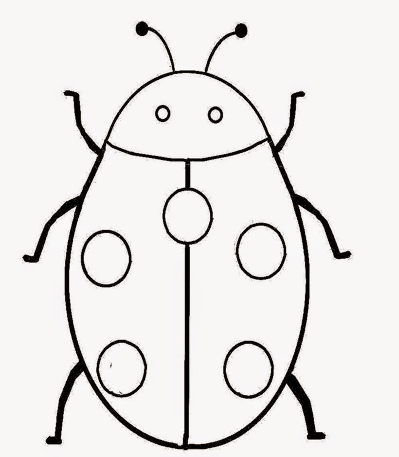 Lady Bug Coloring Pages - ClipArt Best