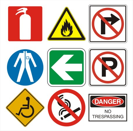 Security Safety Signs Eye Catching · Safety Signs/