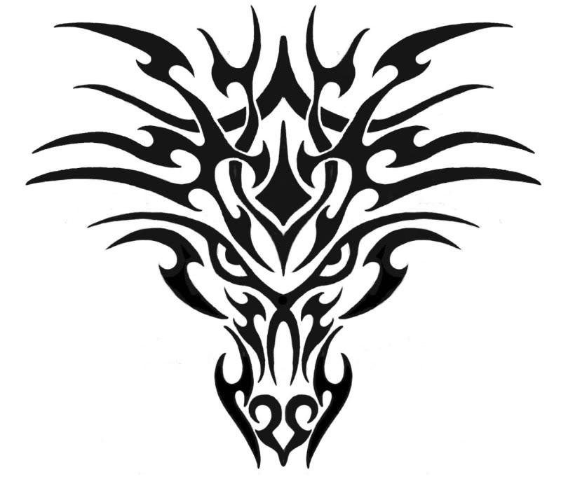 Dragon Graphic Design Black Dragon Graphics And