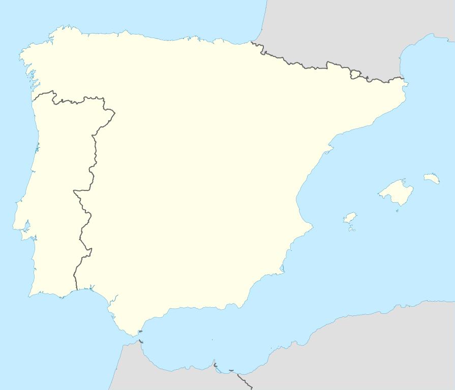Iberian Peninsula Europe Map Iberian Peninsula Map Outline