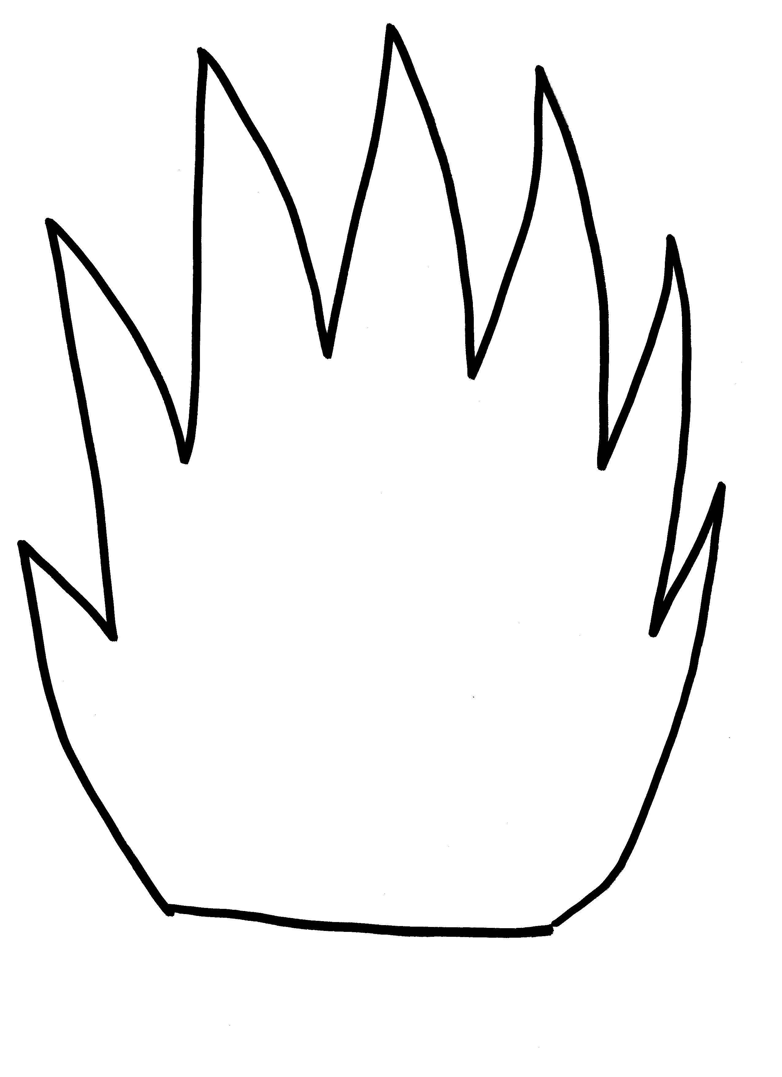 flame template