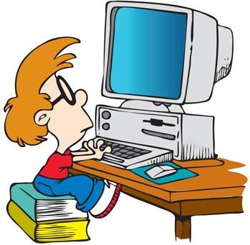 Znalezione obrazy dla zapytania komputer clipart