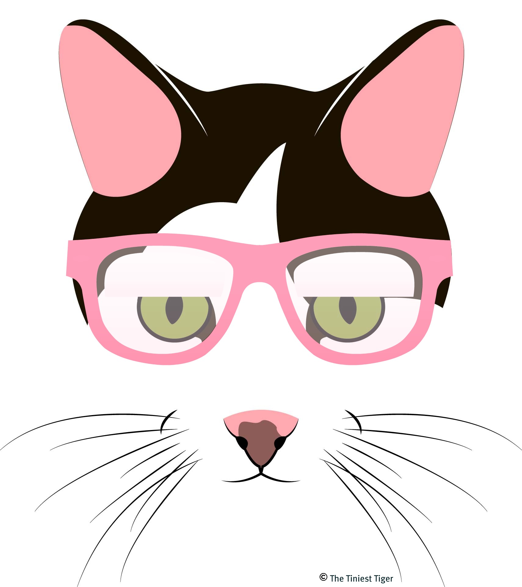 Cute Cartoon Cat With Big Eyes - ClipArt Best