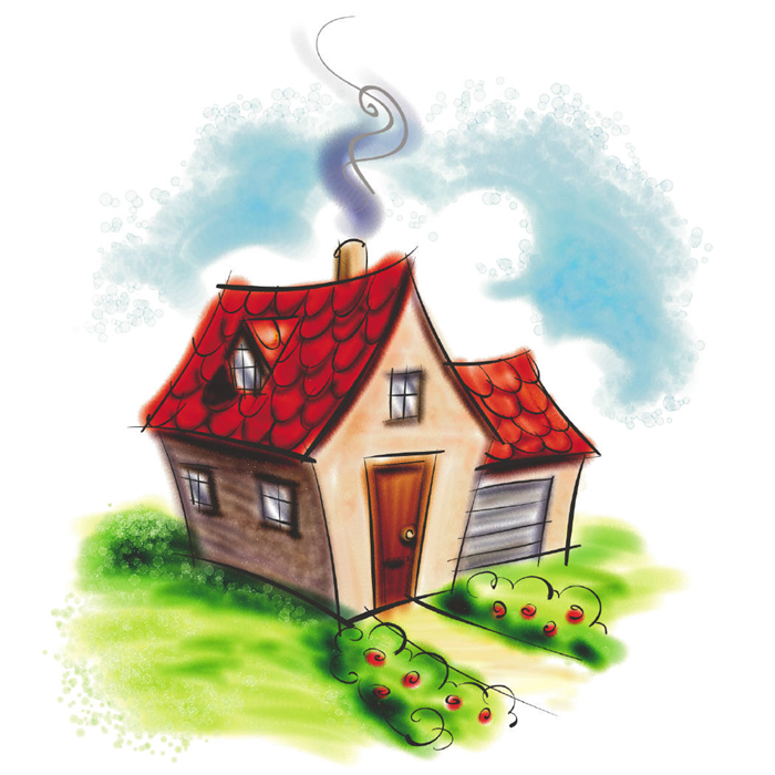 cute cartoon house clipart best