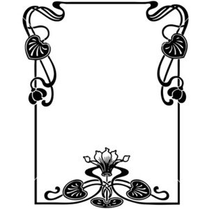 Art Nouveau Vector - ClipArt Best