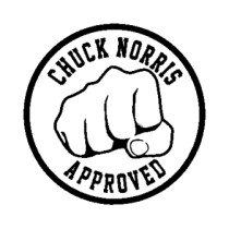 CHUCK NORRIS APPROVED ...