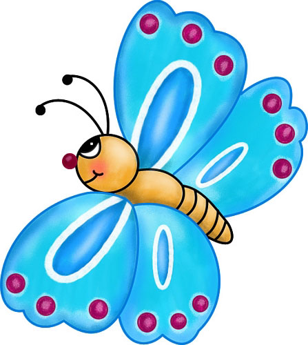 animated butterfly clipart free - photo #1
