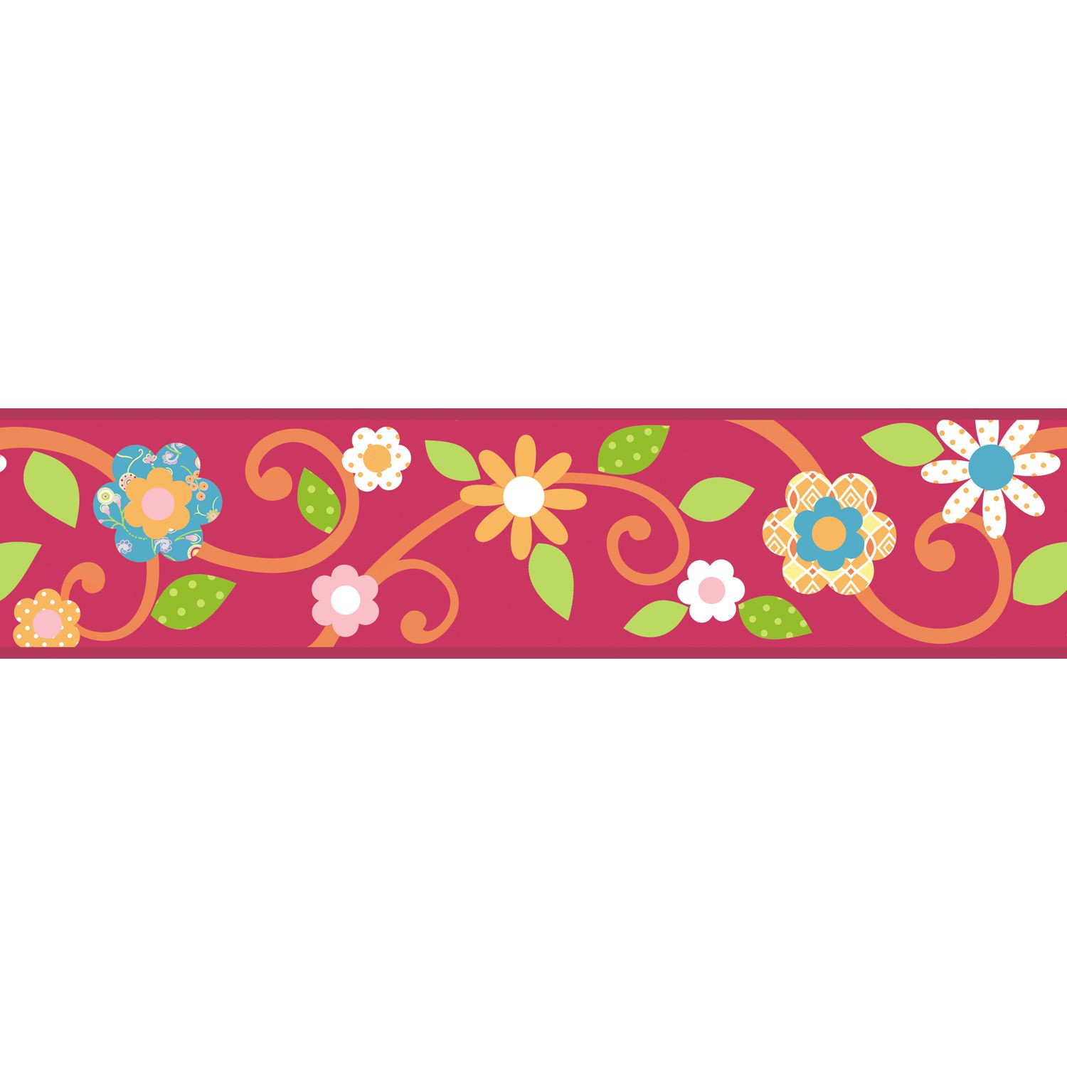 Paper Border Flower Designs ClipArt Best