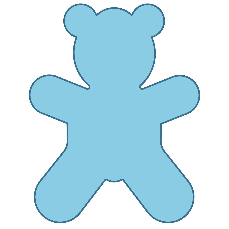 Teddy Bear Shape - ClipArt Best