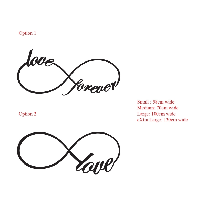 Infinity Sign With Love Clipart Best