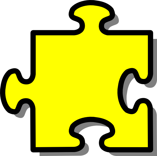 Free 2 Puzzle Pieces Template Clipart Best