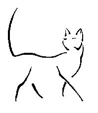 Simple Cat Tattoo | Cat Tattoos ...