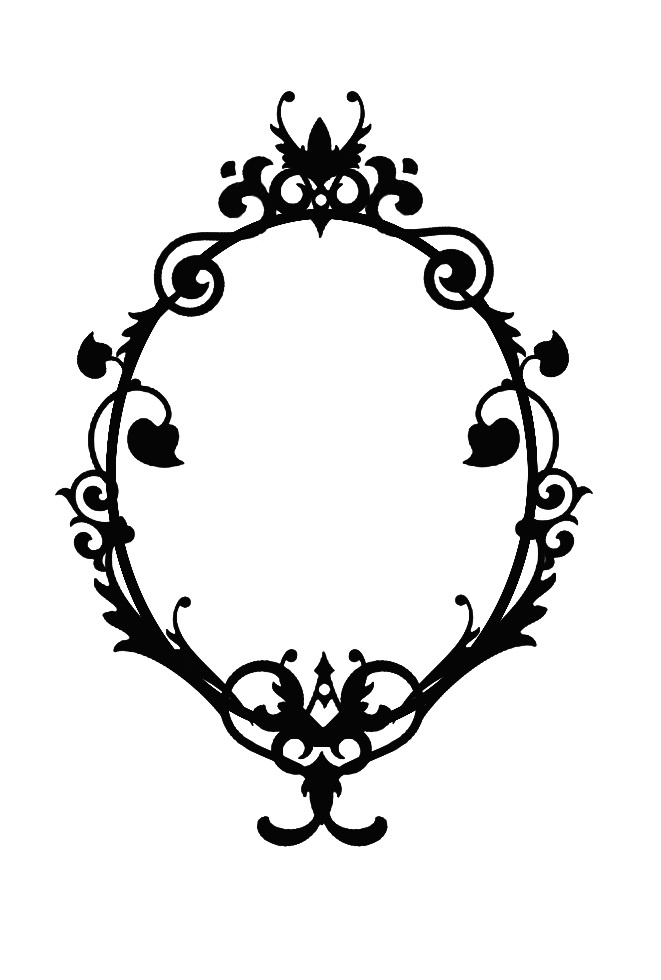 Filigree Frame Outline - ClipArt Best