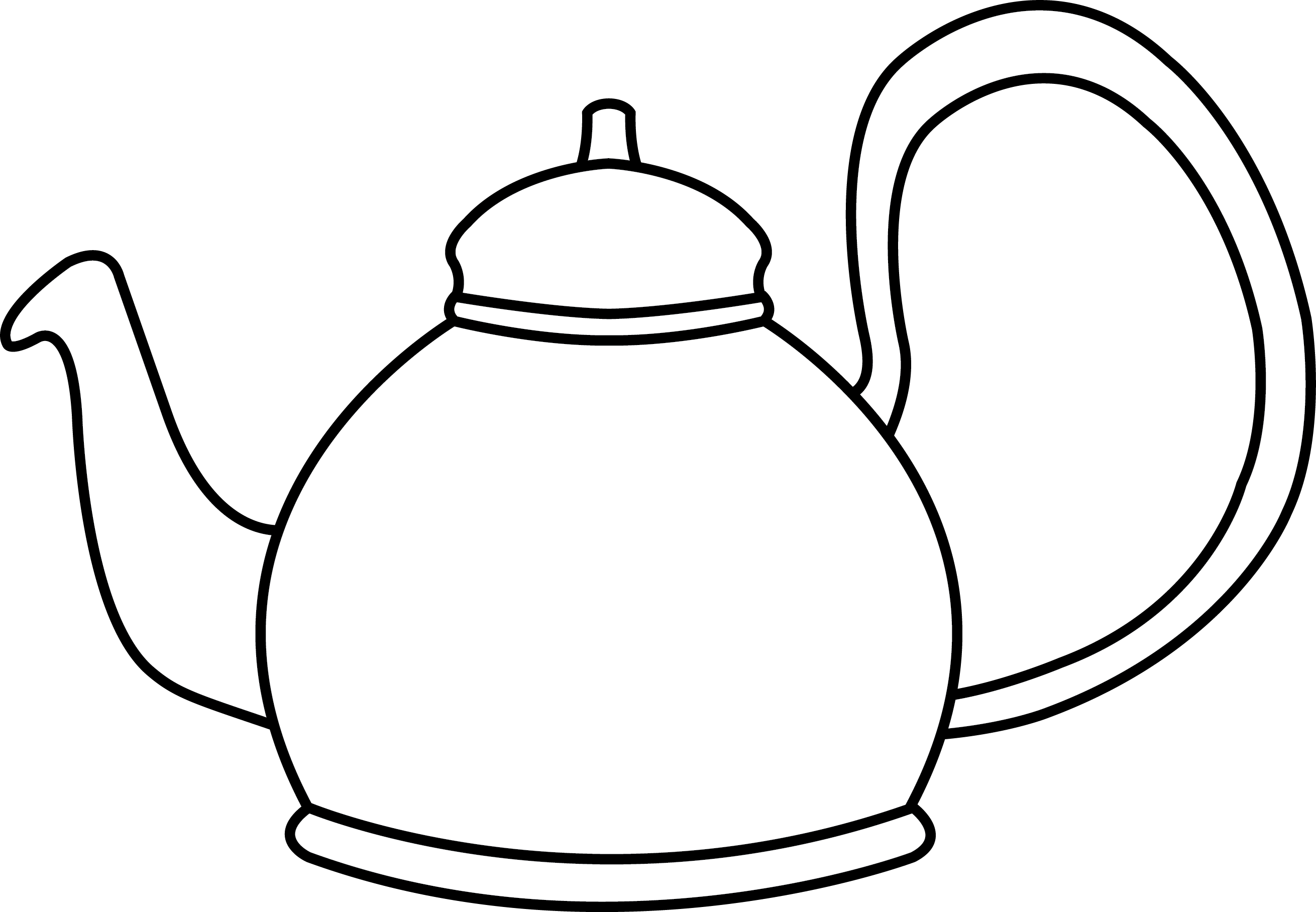 i am a little teapot coloring pages - photo #40