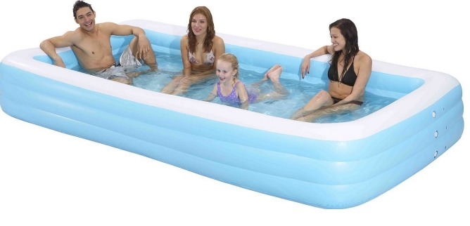 Amazon Giant Inflatable Rectangular Pool 12 Feet Long Only Clipart Best Clipart Best