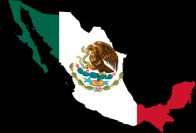 Mexican Flag Logo - ClipArt Best