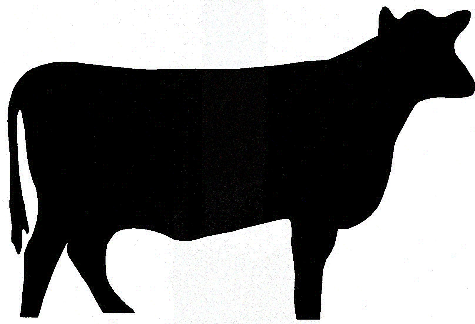 Cow Silhouette - ClipArt Best