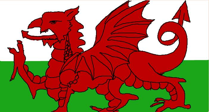 clipart welsh flag - photo #17