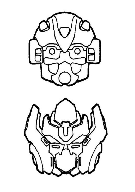 Transformers coloring pages bumblebee face paintings ~ Line Drawing Transformers Bumble Bee - ClipArt Best