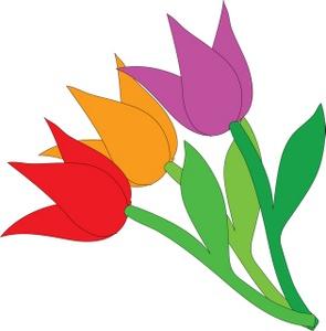 Cartoon Tulips - ClipArt Best