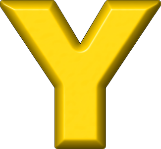 Letters Of Y In Yellow - ClipArt Best