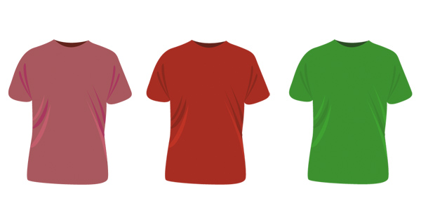 T-shirt Templates | Vectorss