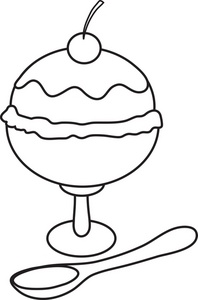ice cream sundae black and white clipart best ice cream sundae clipart black and white ice cream scoop clipart black and white