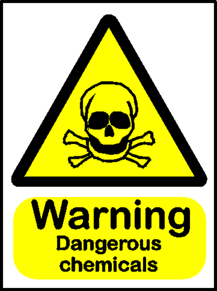 Very Toxic Warning Sign - ClipArt Best