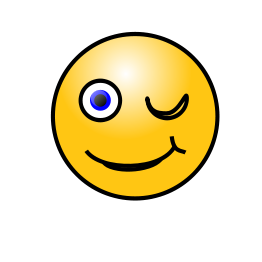Smiley Face Winking - ClipArt Best