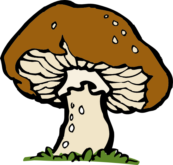 Big Mushroom Clip Art Vector Clip Art Online