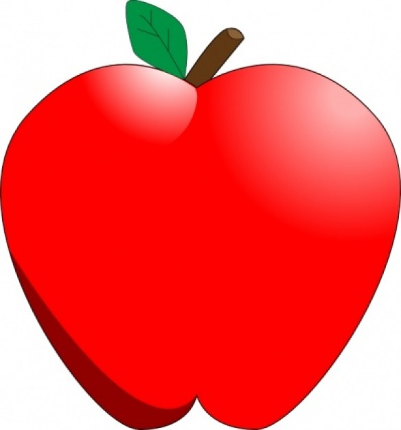 free clipart images for apple - photo #23
