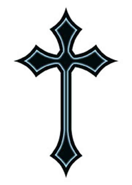 simple cross tattoo designs cross tattoos as strength tattoos clipart best clipart best. Black Bedroom Furniture Sets. Home Design Ideas