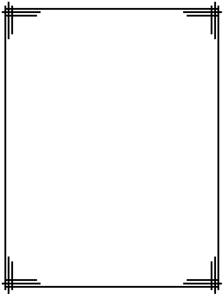 Line Art Corner Design : Simple border designs for school projects to draw