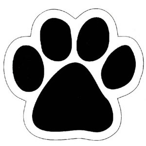 FREE PUPPY DOG PAW PRINT STENCIL PUPPY PAW PRINT DECALS WALL ...