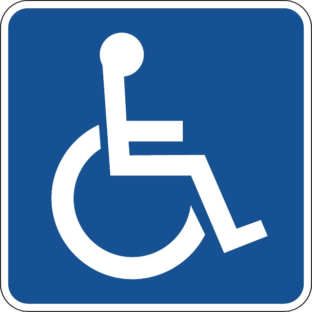 DISABLED VECTOR SIGN - Download at Vectorportal