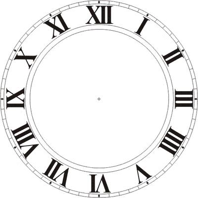 Clock Face Templates | Clock Faces, Public Domain and Wi ...