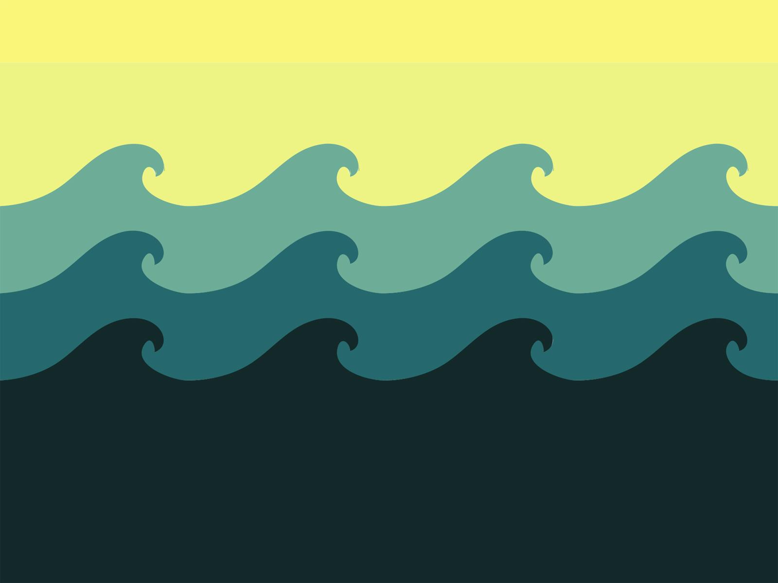 Wave Pattern Border - ClipArt Best