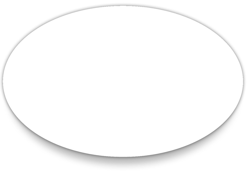 Gallery For > Oval Shape Stencil