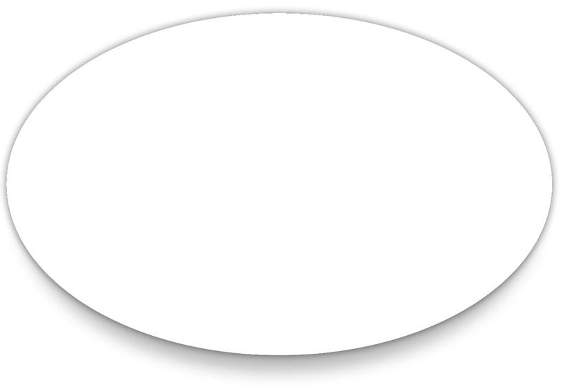 Oval Templates Printable