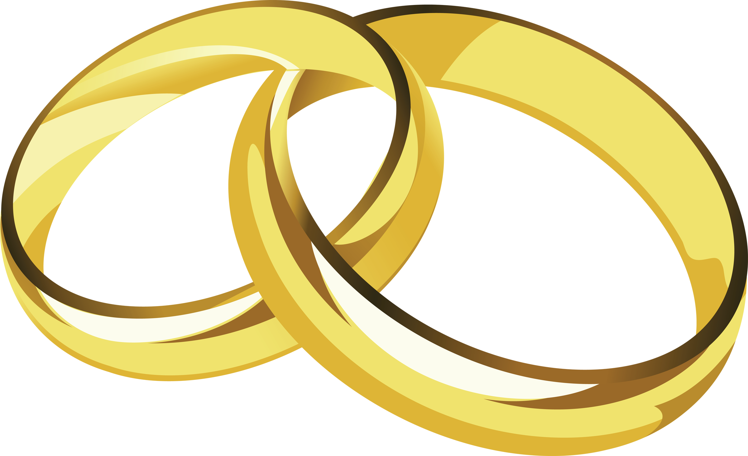 Cartoonized Wedding Ring