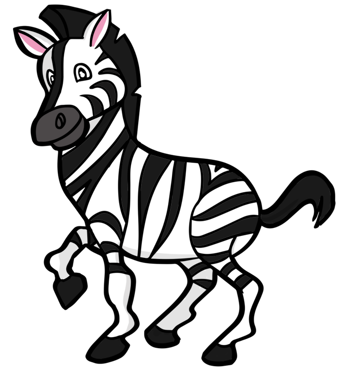 Cartoon Zebras Pictures Cartoon Zebra High-quality