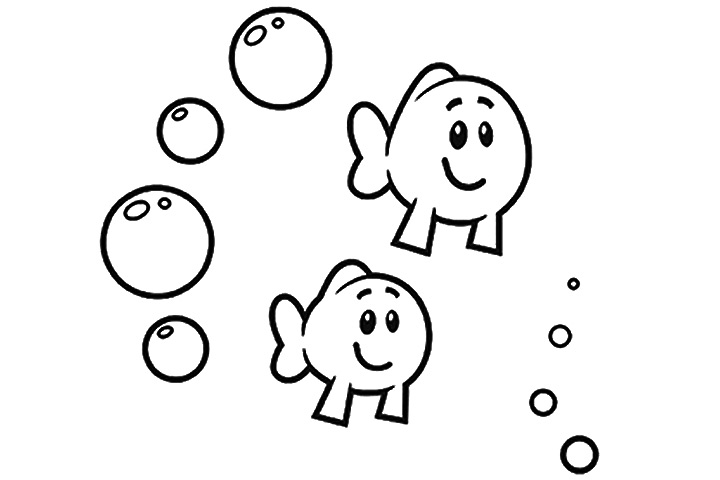 Free bubble guppies coloring pages molly guppy hot girls for Bubble guppies fish
