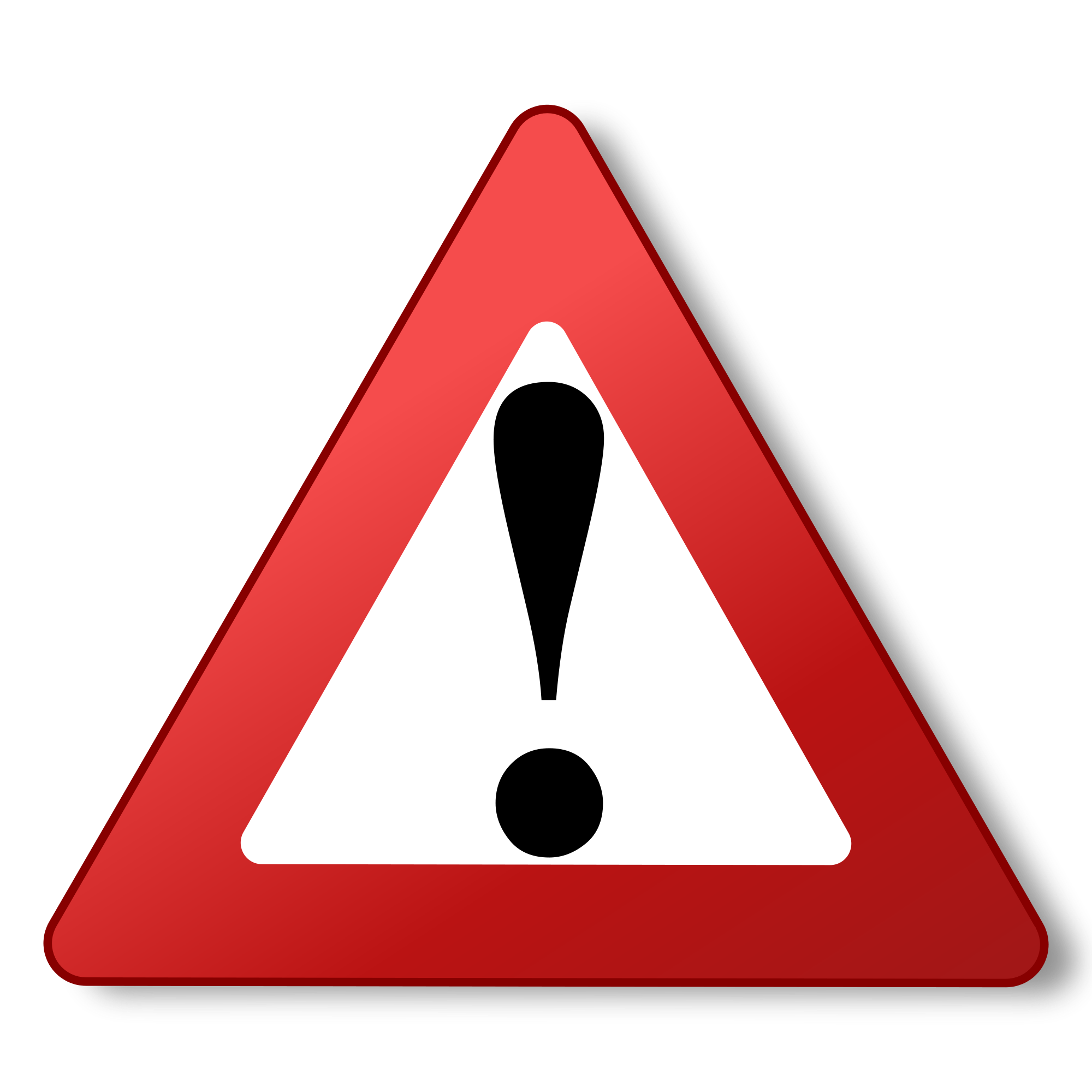 Caution Vector Icon - ClipArt Best