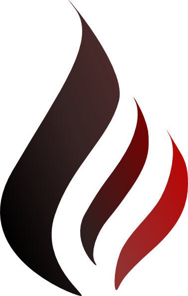 Black White Flame - ClipArt Best