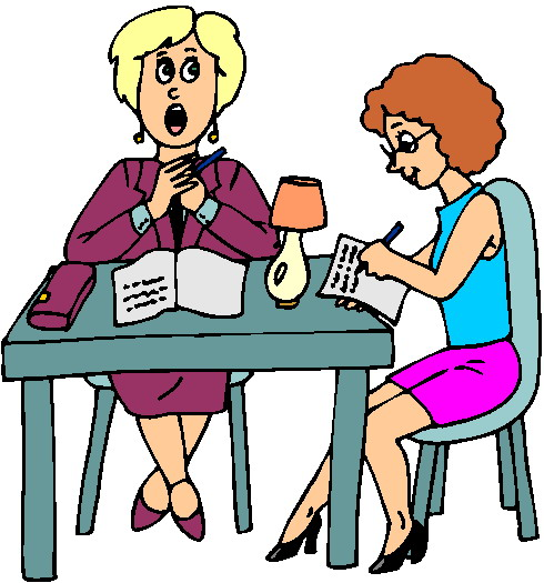 teacher and student clipart - photo #23