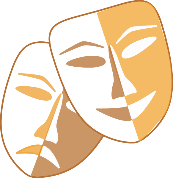 Theatrical Faces - ClipArt Best