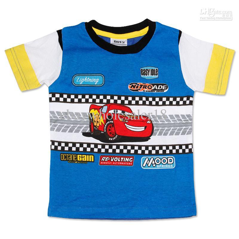 Wholesale children 39 s t shirts buy new cartoon mcqueen for Wholesale children s t shirts